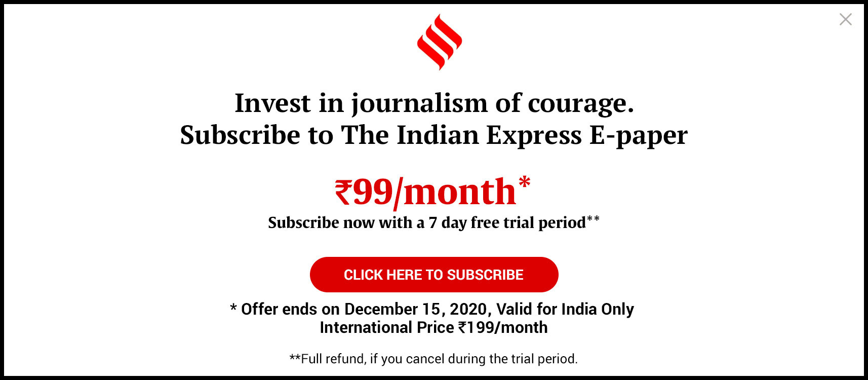 Support our journalism by becoming  a subscriber to the ePaper